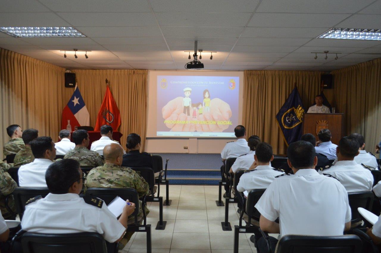 DIREBIEN LANZÓ EL PROGRAMA EDUCATIVO PREVENTIVO 2019 PARA GUARDIAMARINAS Y GRUMETES DE SEGUNDO AÑO.