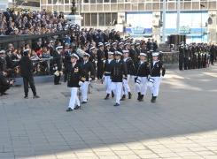 Academia Politécnica Naval participó en homenaje a las Glorias Navales
