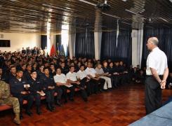 Grumetes de la Academia Politécnica Naval se preparan para iniciar año académico.