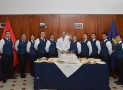 ALUMNOS DEL EJÉRCITO DE CHILE REALIZARON MUESTRA EN APOLINAV.