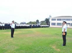 Alumnos de la Academia Politécnica Naval inician año académico 2016.