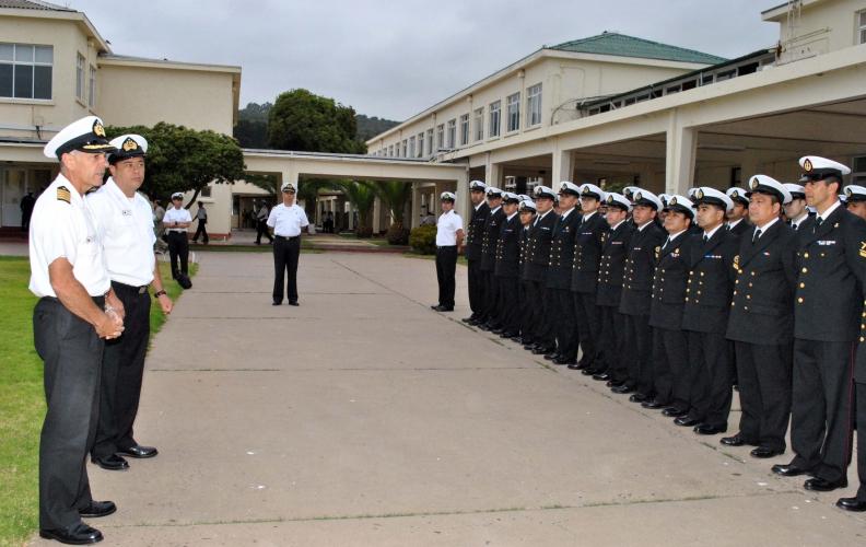 Academia Politécnica Naval recibió al Primer Curso de Mando 2016.