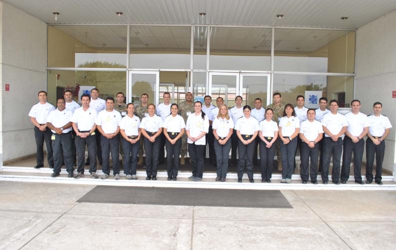 Academia Politécnica Naval realiza Curso de formación de Instructores Sanidad Naval 2016.