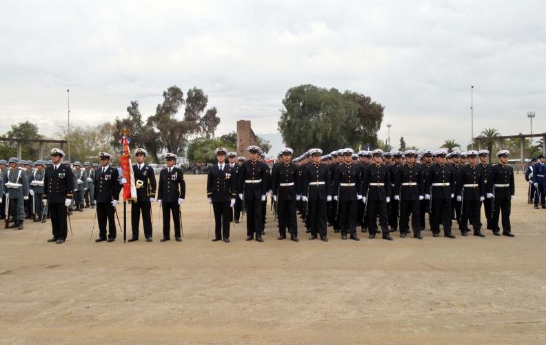 Academia Politécnica Naval participó en aniversario de la Batalla de Maipú.