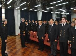 Academia Politécnica Naval graduó el Primer Curso de Mando año 2016