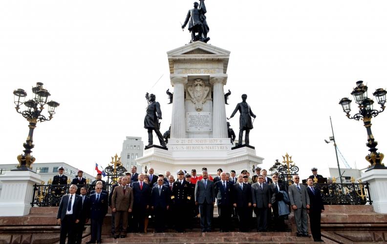 Las Glorias Navales fueron homenajeadas por Personal en retiro de las FF.AA. y de Orden
