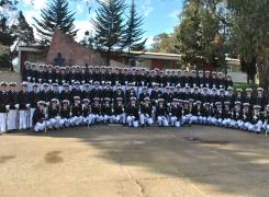El Curso de Guardiamarinas 2016 deja las dependencias de la Academia Politécnica Naval