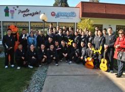 Pastoral Católica y Coro Evangélico de la APOLINAV visitaron el Centro de Rehabilitación Dalegría.