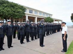 Academia Politécnica Naval recibió al Curso de Guardiamarinas 2016.