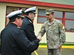 Director General del Personal de la Armada visitó el Campus Jaime Charles.
