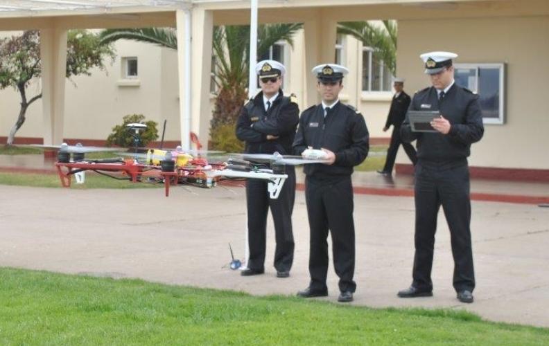 ARMADA CREA MODERNO DRONE PARA COMUNICAR ZONAS AISLADAS O EN CATÁSTROFE.