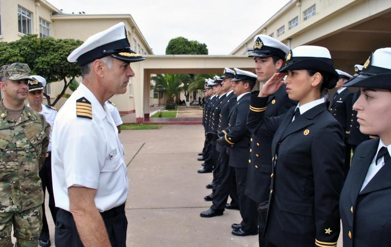 Academia Politécnica Naval continúa recibiendo a sus Oficiales alumnos 2016.