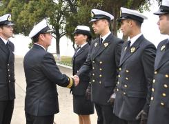 APN recibió al Curso de Guardiamarinas 2014