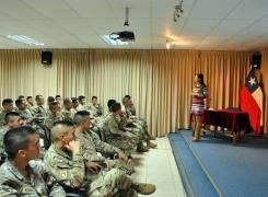 Programa Prevención Social en la Academia Politécnica Naval.