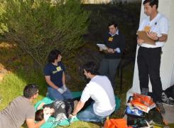 Curso PHTLS realizó la División de Instrucción y Simulación Médica de la APOLINAV
