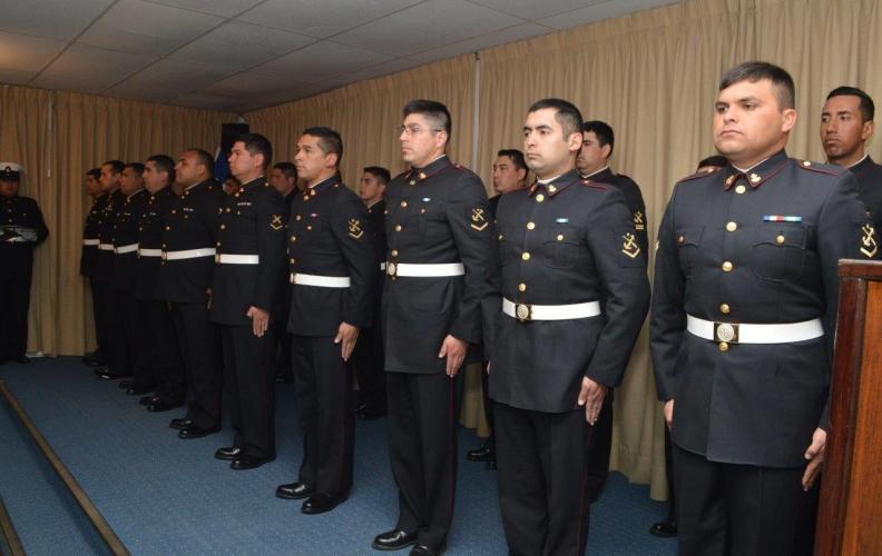 CEREMONIA GRADUACIÓN CURSO DE CONDUCTOR DE VEHÍCULOS MILITARES EN APOLINAV.