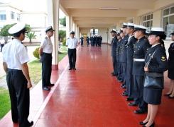 Academia Politécnica Naval prepara a sus nuevos Instructores Militares.