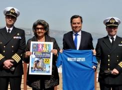 """ARMADA Y MUNICIPALIDAD DE VIÑA INVITAN A PARTICIPAR EN CORRIDA FAMILIAR """"ARMADA DE CHILE""""."""