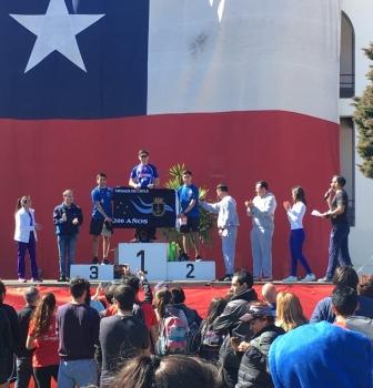 APOLINAV PARTICIPÓ EN LA CORRIDA GLORIAS DEL EJÉRCITO DE CHILE.