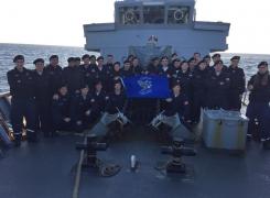 Guardiamarinas de la A.P.N. realizan curso de Pilotaje Práctico Embarcado en Unidades PSG.