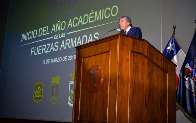 APOLINAV PARTICIPÓ EN EL INICIO DEL AÑO ACADÉMICO DE LAS FUERZAS ARMADAS.
