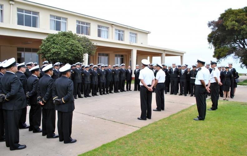 Academia Politécnica Naval recibió a los transbordados 2016.