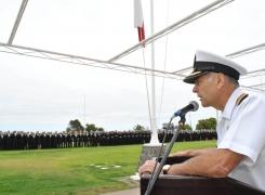 Bienvenida a los Grumetes Alumnos a la Academia Politécnica Naval.