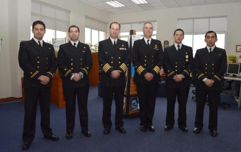 ARMADA CUENTA CON 4 NUEVOS OFICIALES SUBESPECIALISTA EN TELECOMUNICACIONES MARÍTIMAS.