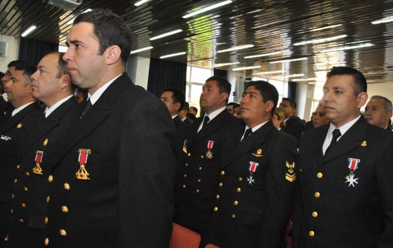 APOLINAV CELEBRÓ EL 137° ANIVERSARIO DEL COMBATE NAVAL DE ANGAMOS Y DÍA DEL SUBOFICIAL MAYOR DE LA ARMADA.
