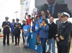 MÁS DE 5 MIL CORREDORES PARTICIPARON EN LA CORRIDA BICENTENARIO ARMADA DE CHILE.